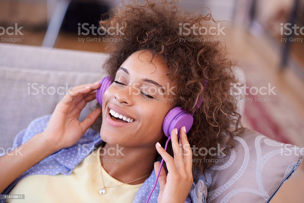 Music is the strongest form of magic stock photo