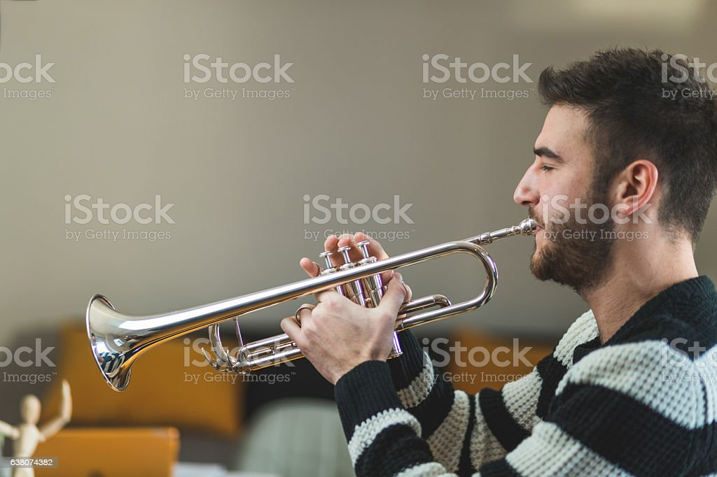 Music just for me stock photo
