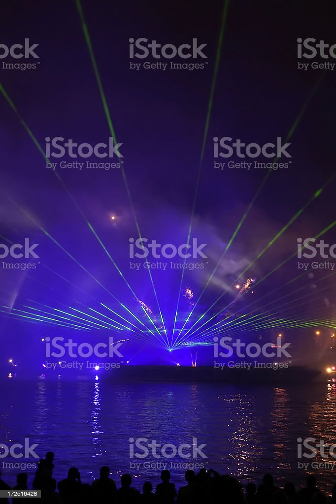 Music & Light Event royalty-free stock photo