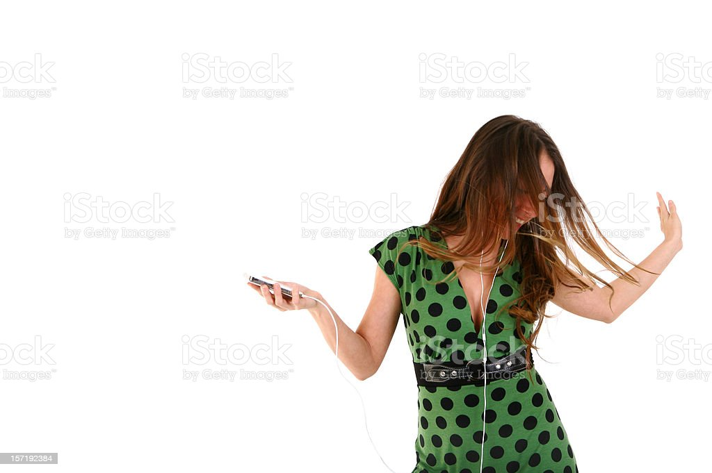 Music Lover royalty-free stock photo