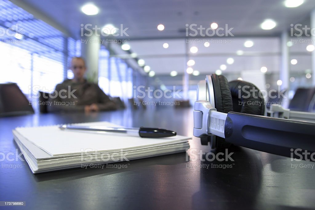 Music meeting royalty-free stock photo