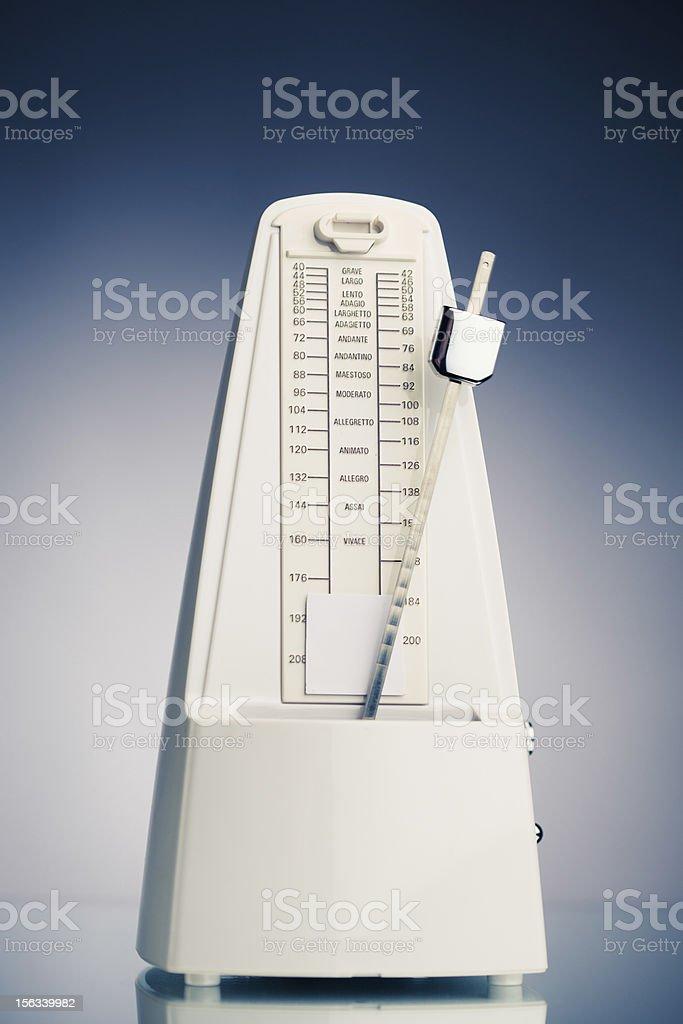 Music metronome stock photo