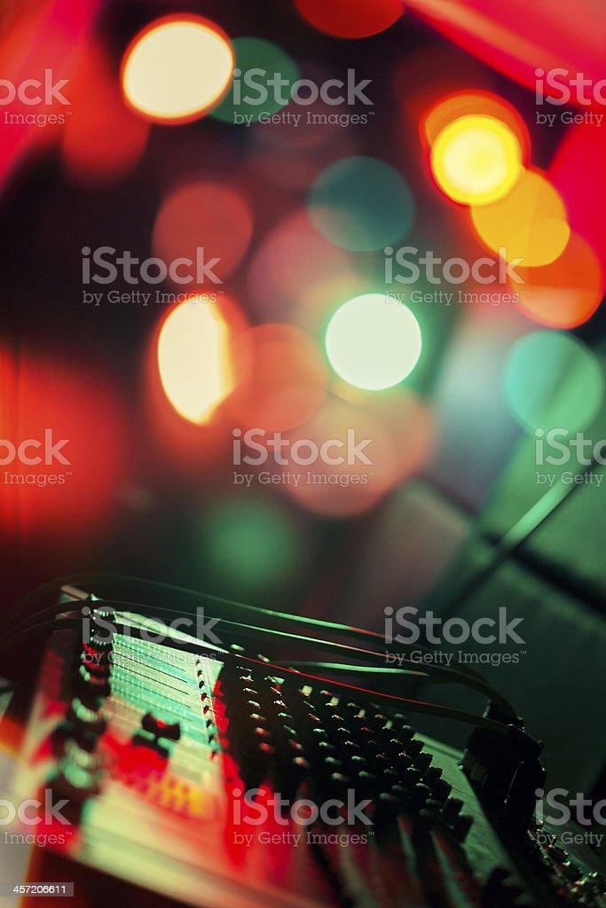Music Mixer  - Disco stock photo