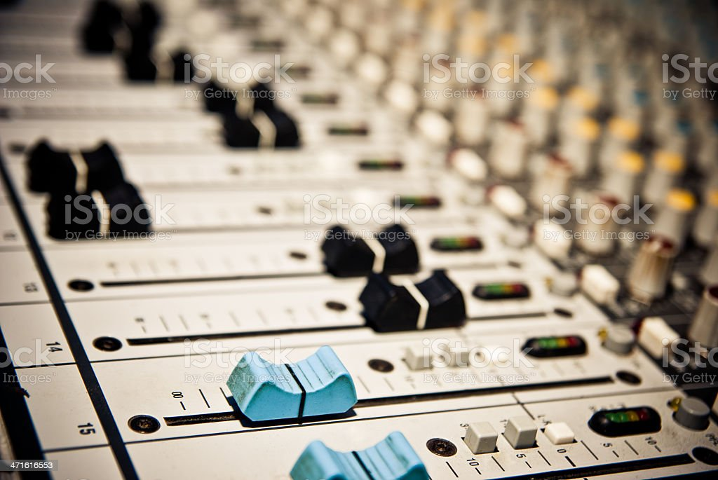 music mixer royalty-free stock photo