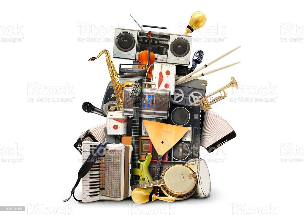 Music, musical instruments stock photo