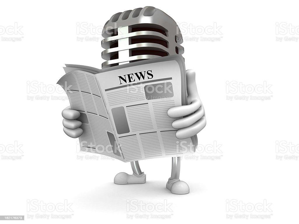 Music news royalty-free stock photo