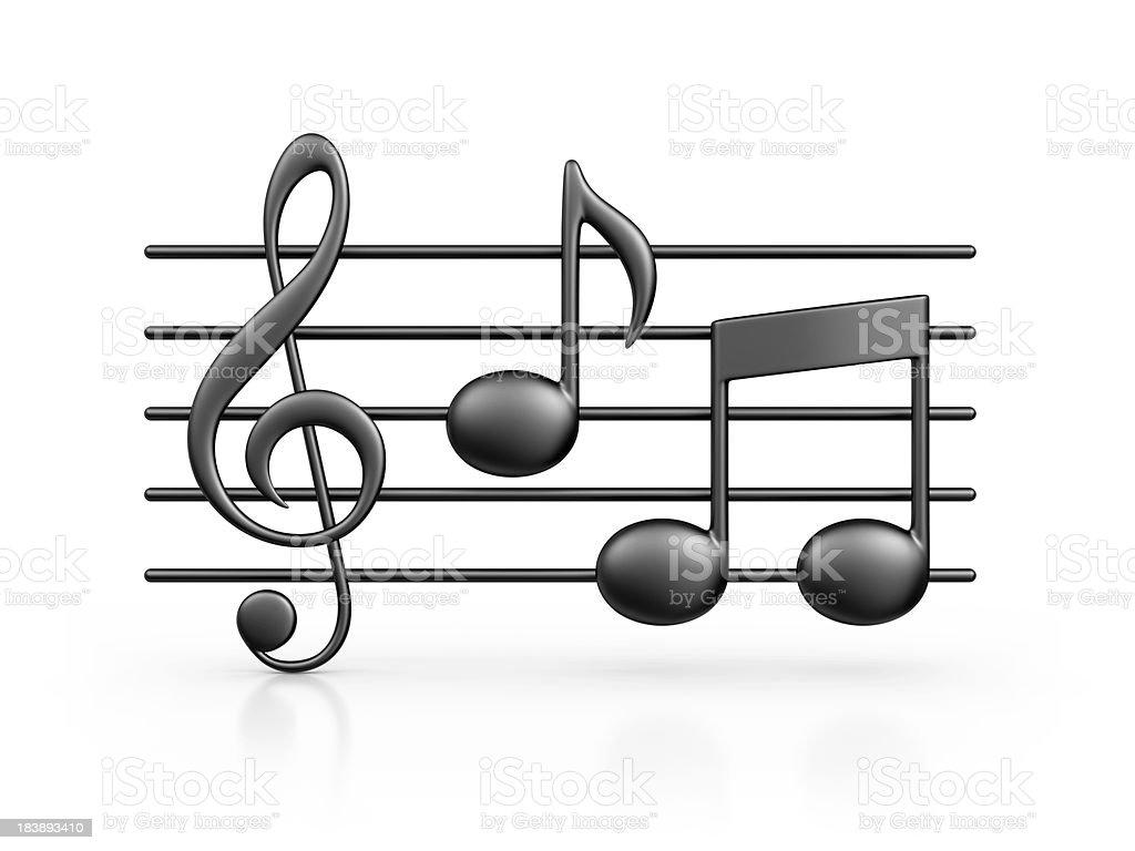 music note stock photo