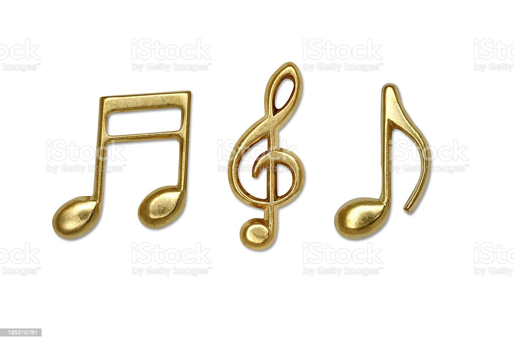 Music note royalty-free stock photo