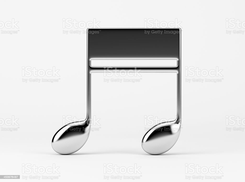 Music Note. Quavers stock photo
