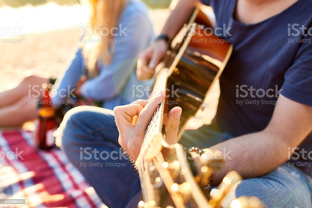 Music of my soul stock photo