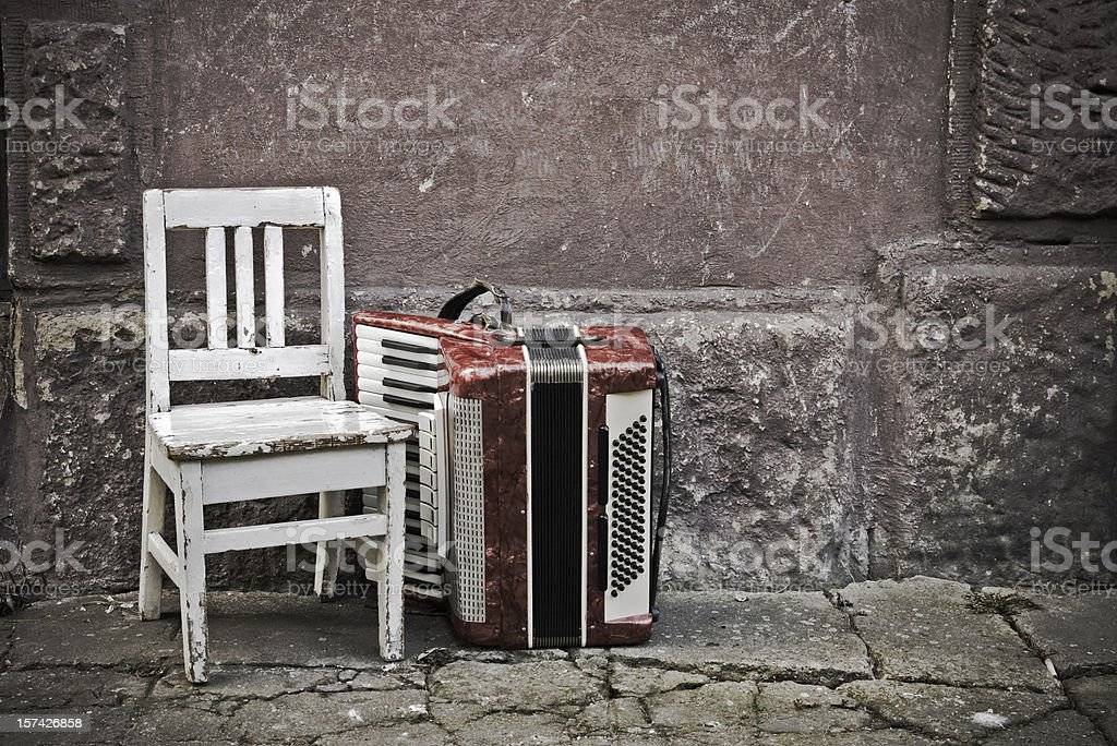 Music of the street royalty-free stock photo