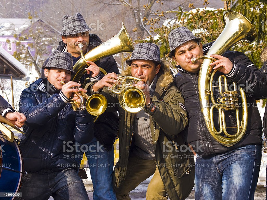 Music on Carnival stock photo