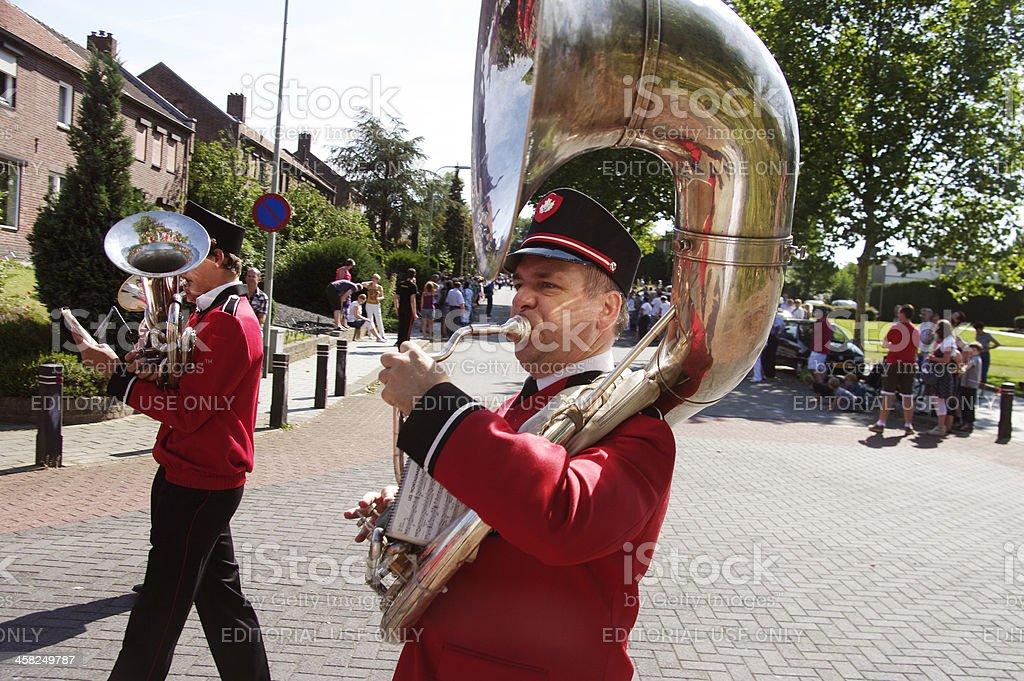 Music parade royalty-free stock photo