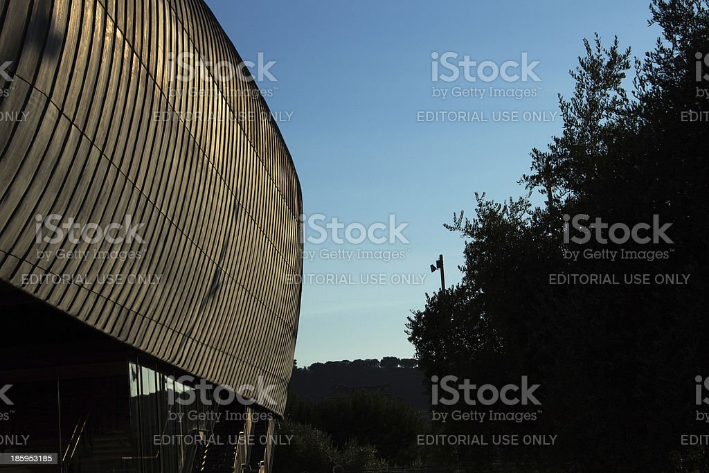 Auditorium parco della musica royalty-free stock photo