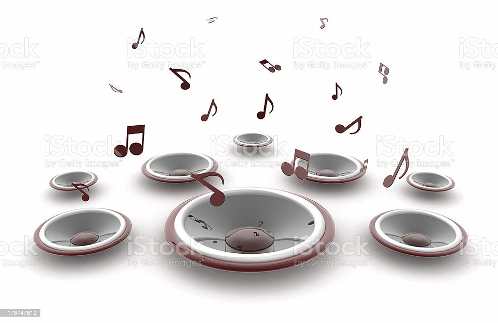 Musica royalty-free stock photo