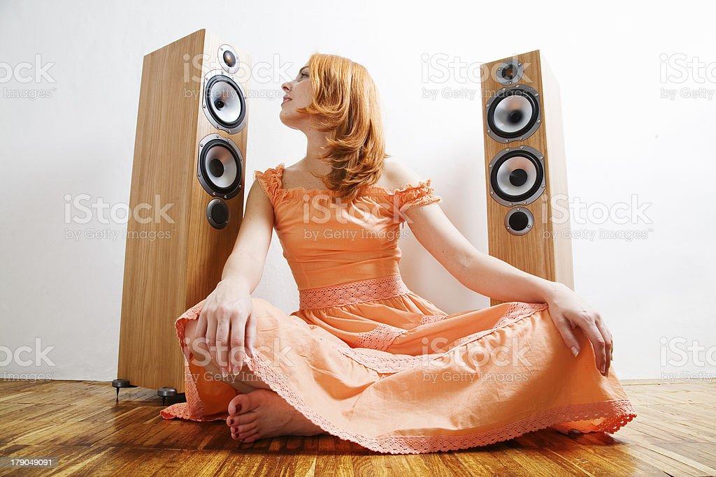 Music! stock photo