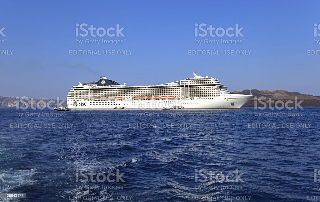 MSC Musica royalty-free stock photo