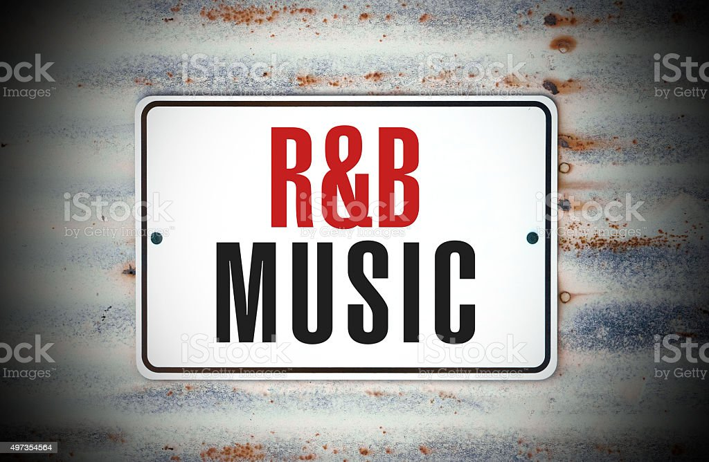 R&B Music stock photo