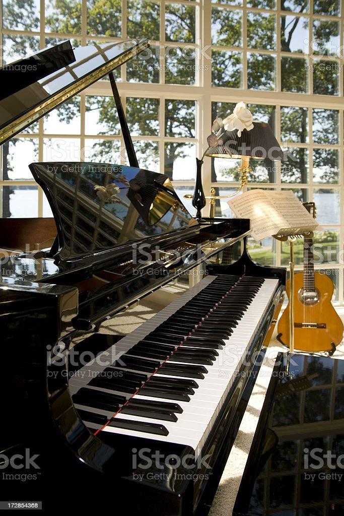 Music Room. royalty-free stock photo