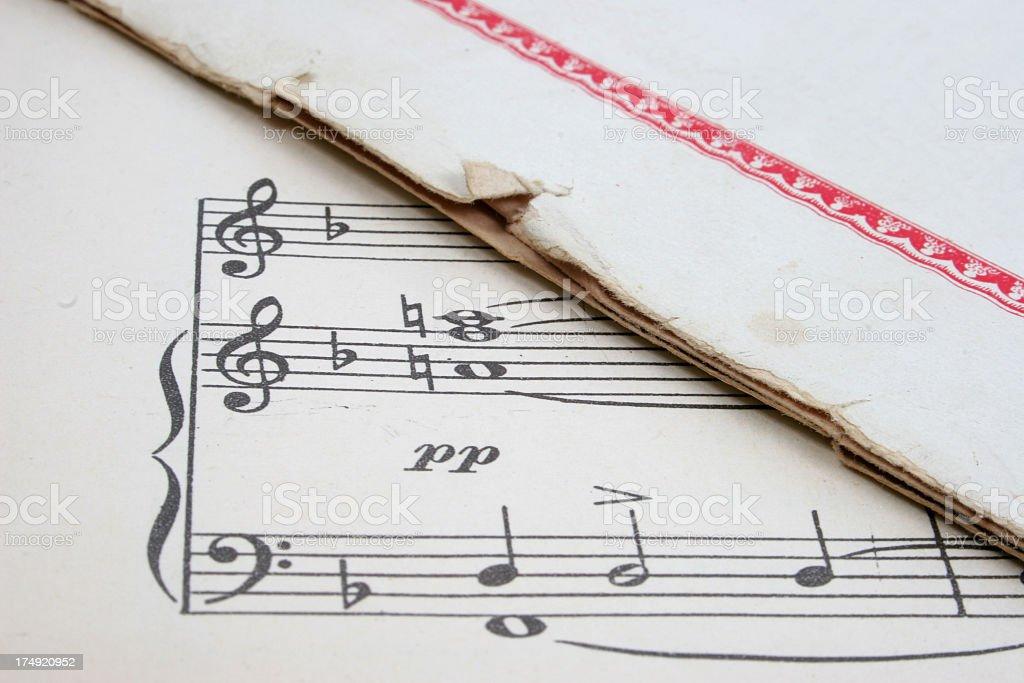 Music score.