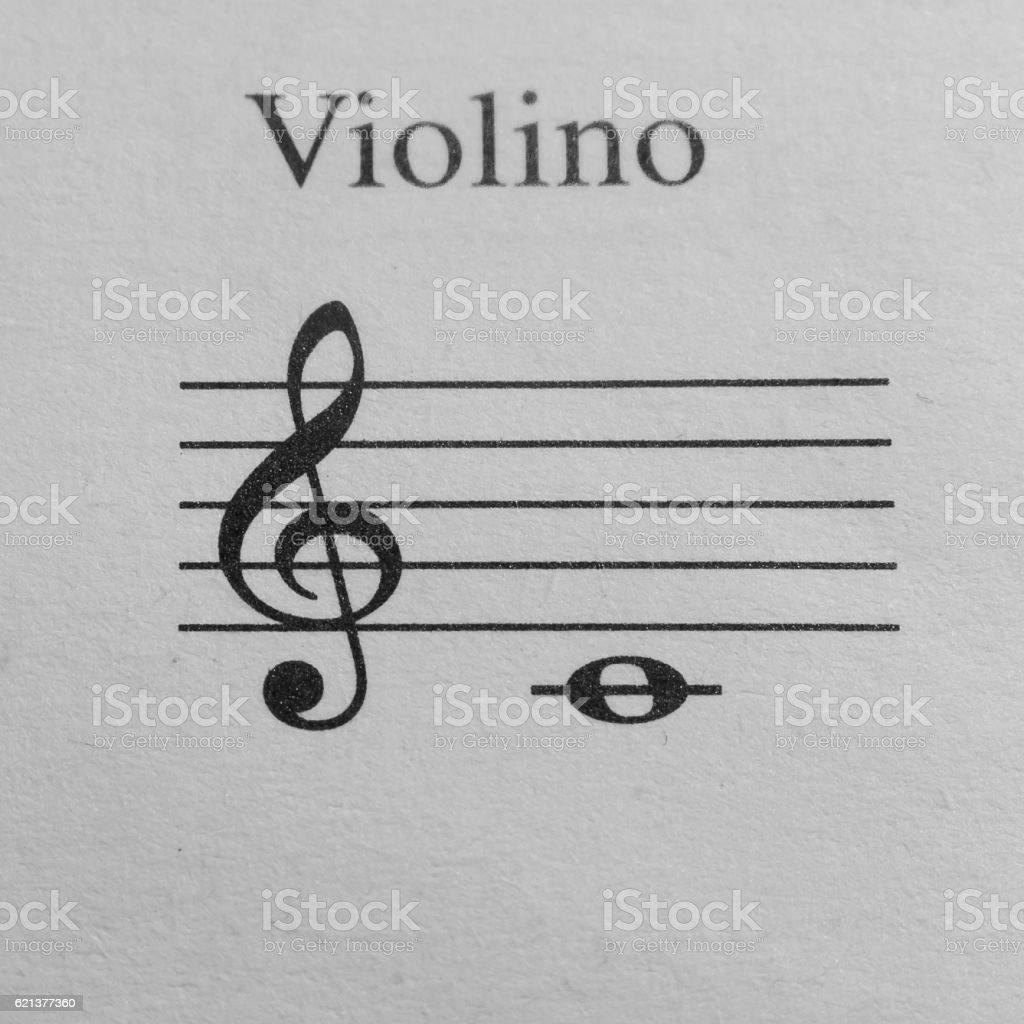 Music sheet background stock photo