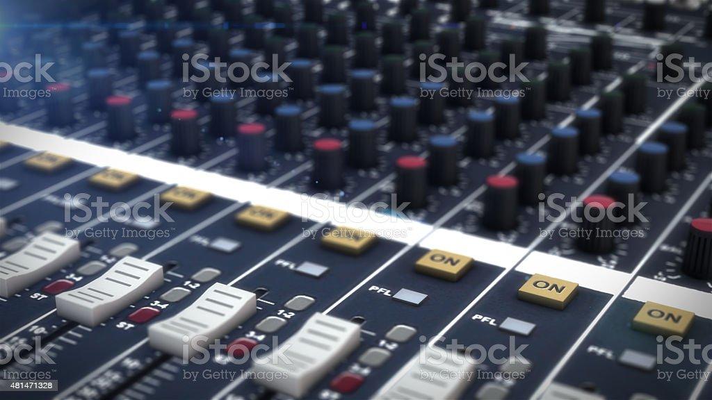 Studio de musique photo libre de droits