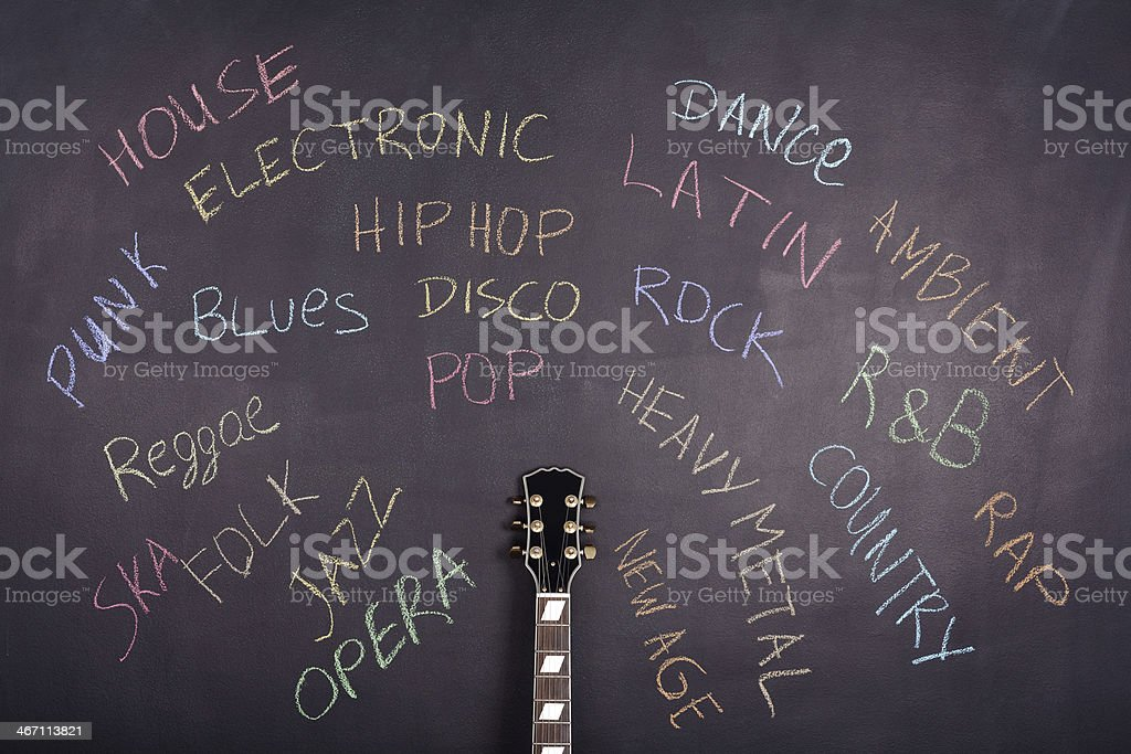 Music Style stock photo