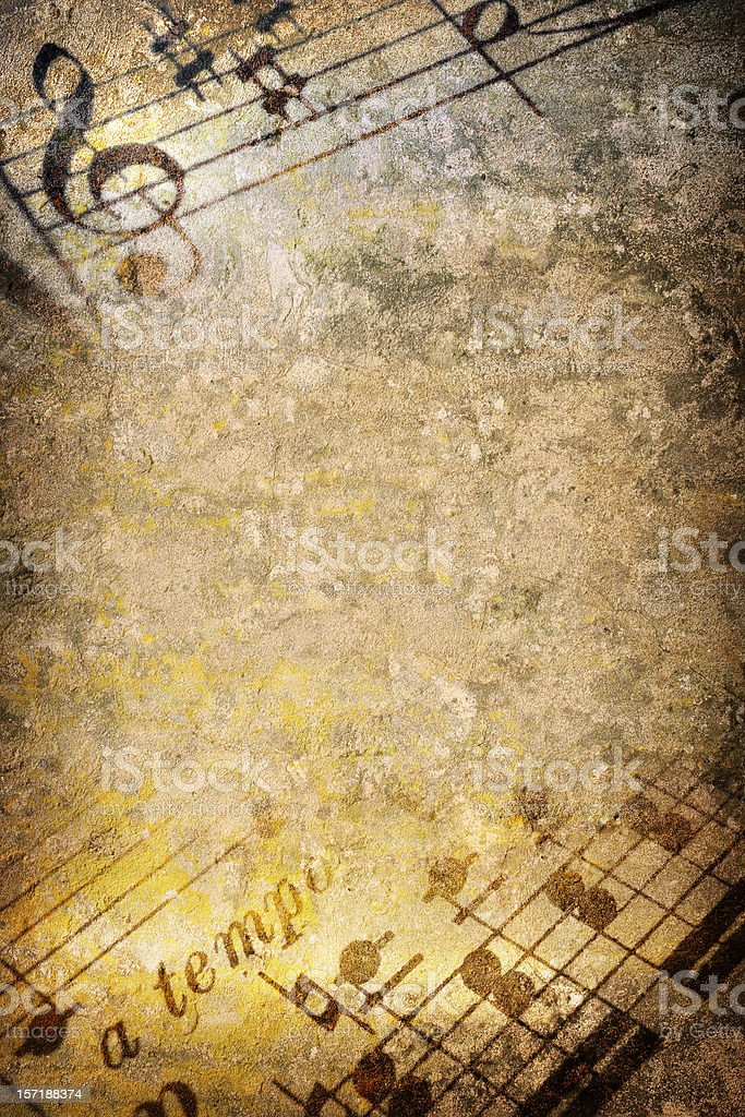Music Texture stock photo