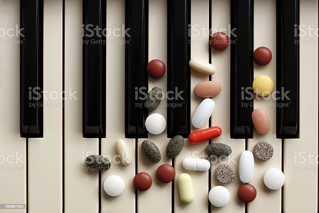 Music Therapy royalty-free stock photo