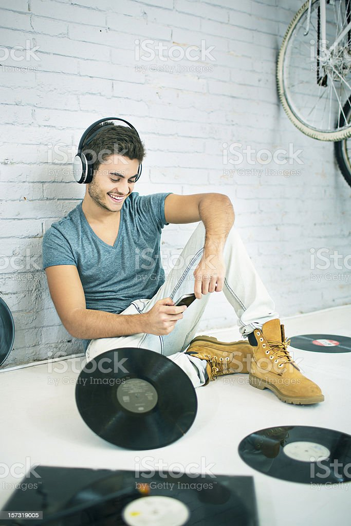 Music time royalty-free stock photo