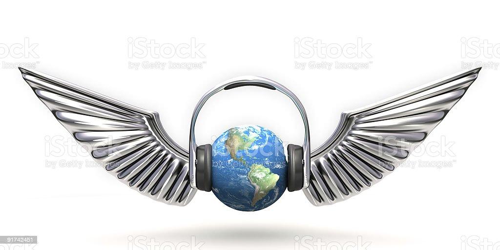 Music world royalty-free stock photo
