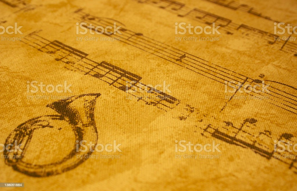 Musical background royalty-free stock photo