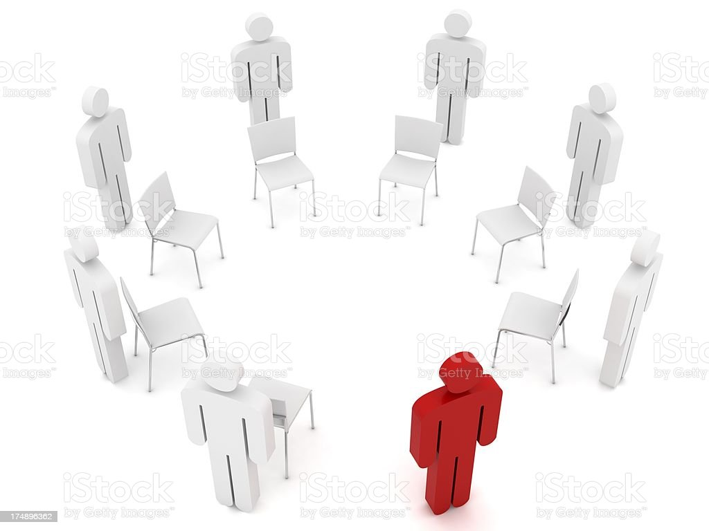 Musical Chairs stock photo