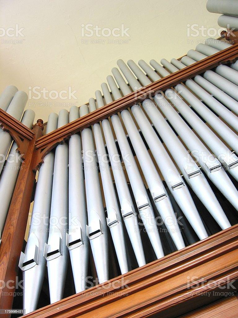 Musical Church Organ - B royalty-free stock photo
