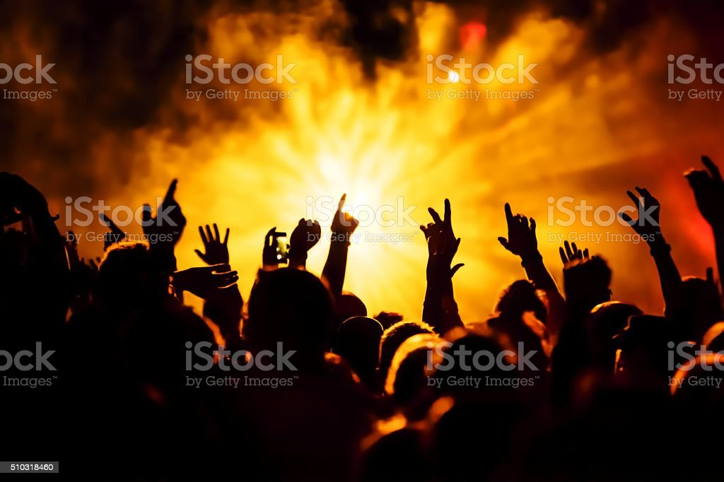musical concert stock photo