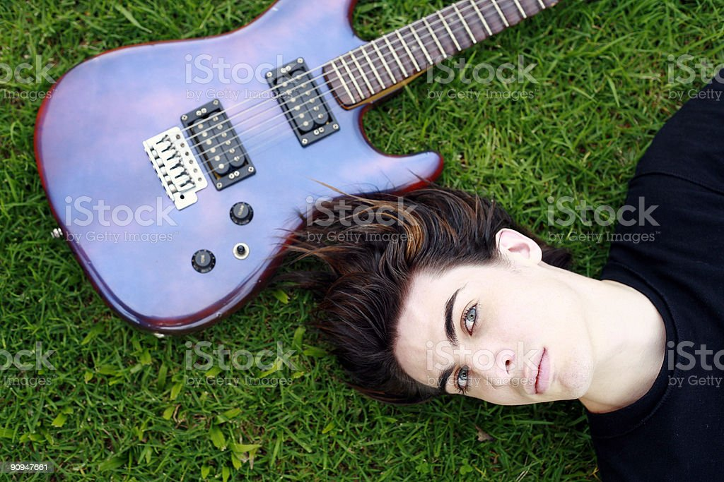 Musical Dreaming royalty-free stock photo