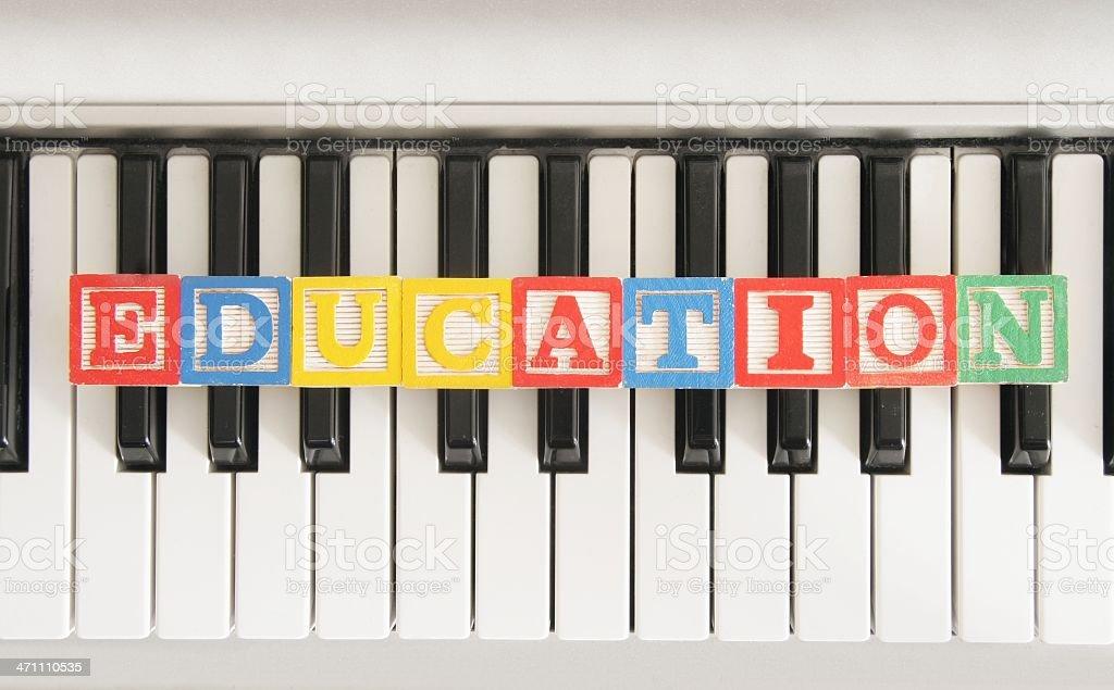 Musical Education stock photo