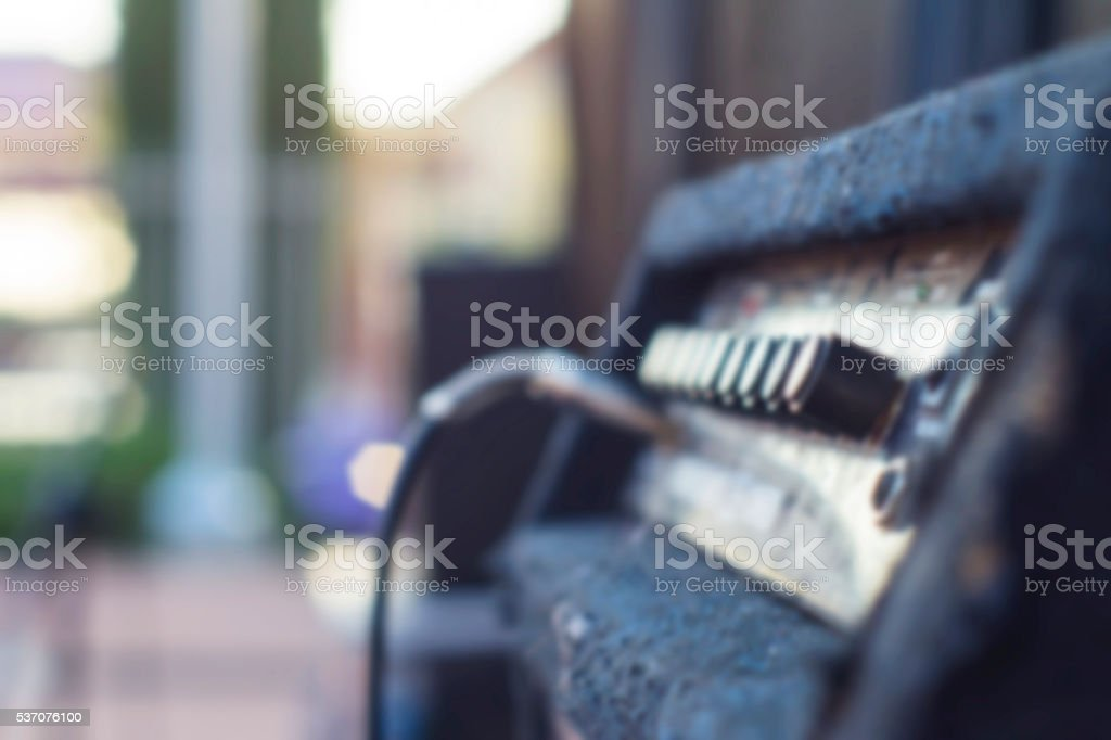 Musical equipment stock photo