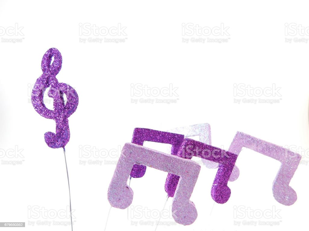 Musical Figures. stock photo