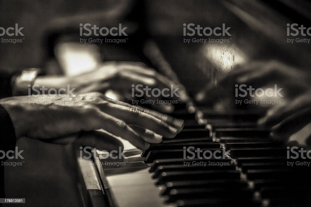 Musical Hands stock photo