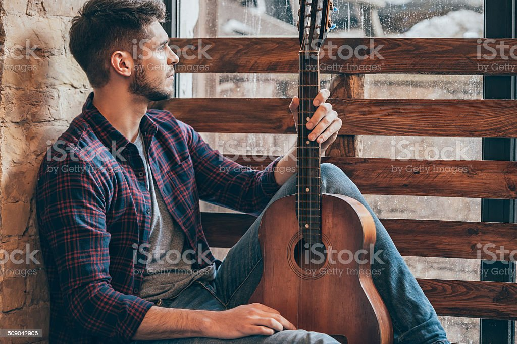 Musical inspirations. stock photo