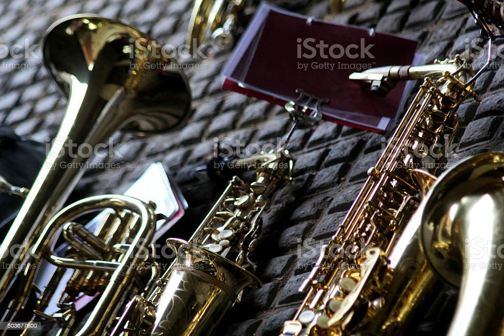 Musical Instruments stock photo
