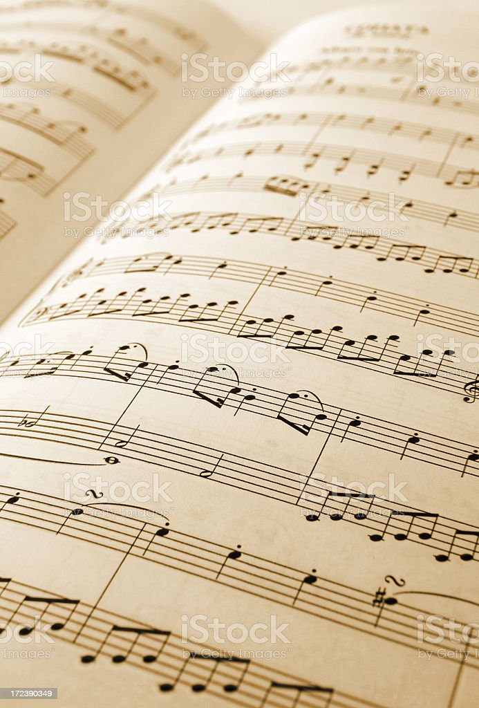 musical note royalty-free stock photo