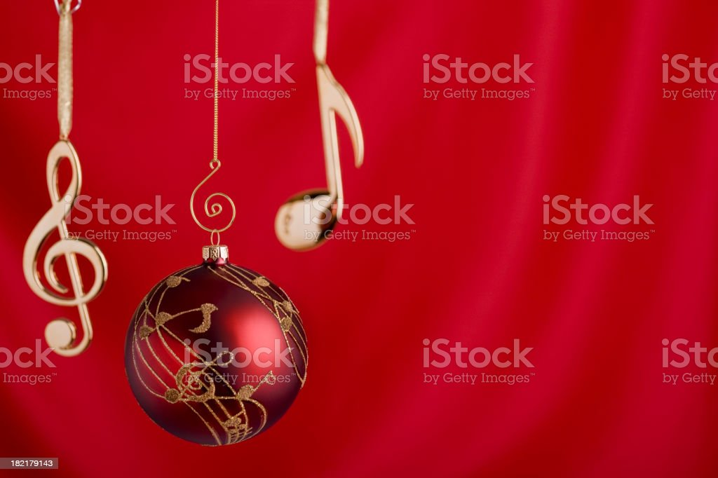 Musical Ornaments stock photo