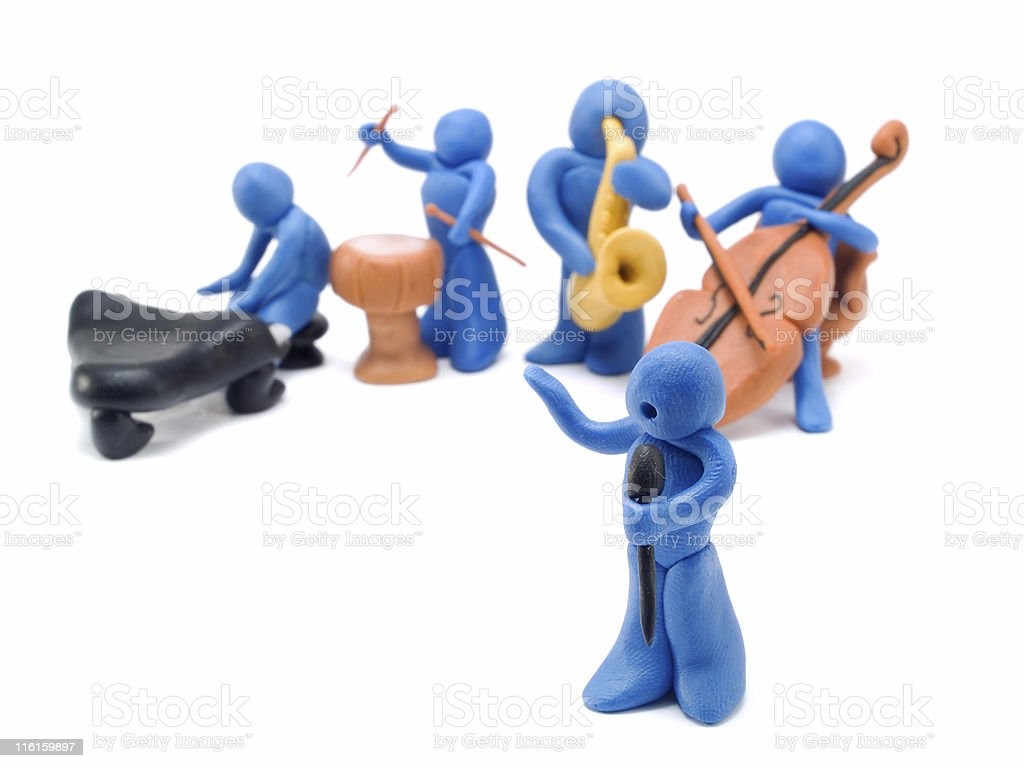Musical Performance royalty-free stock photo