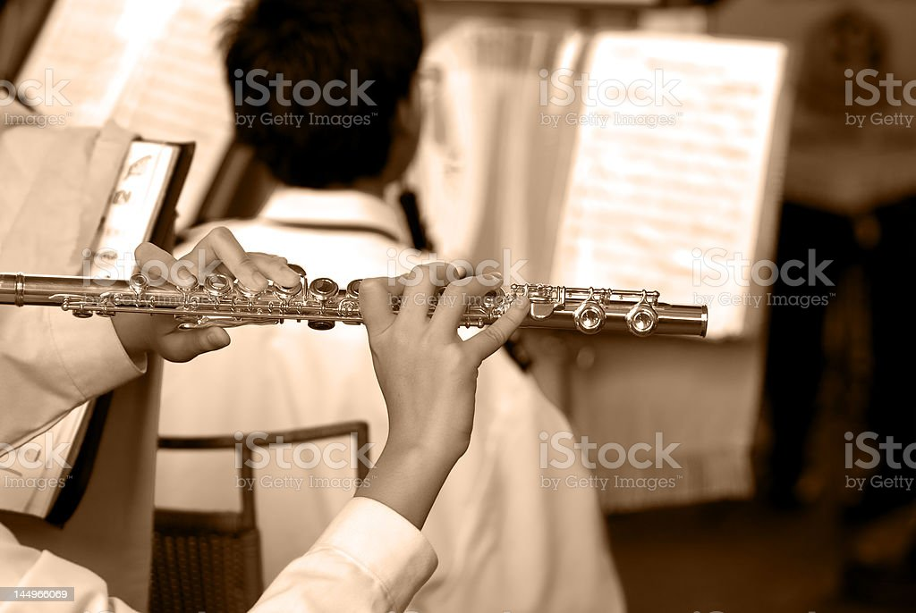 Musical royalty-free stock photo
