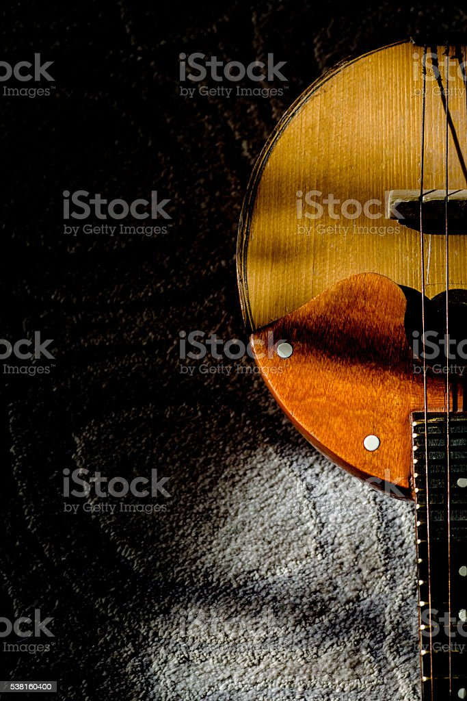 musical string instrument stock photo