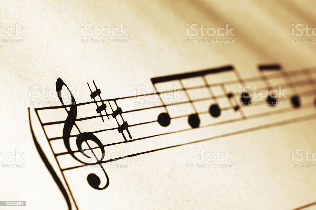 Musical Symbols royalty-free stock photo