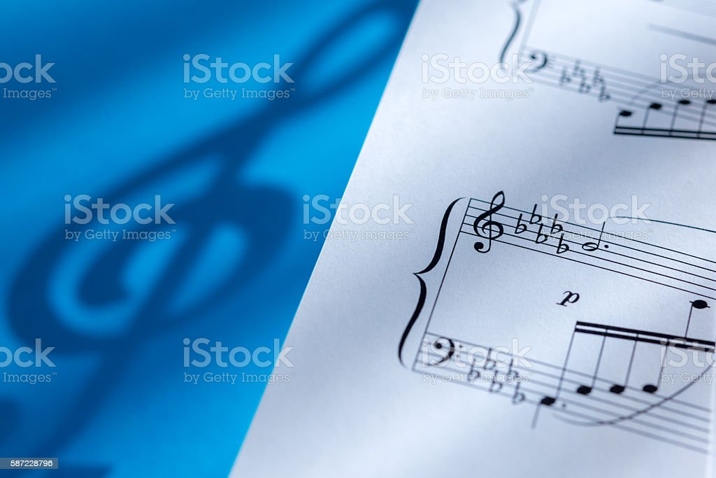 Musical Symbols stock photo