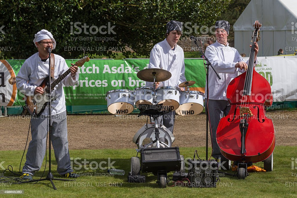 Musician Chefs Band stock photo